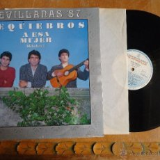 Discos de vinilo: DISCO VINILO RARO - SEVILLANAS 87 , REQUIEBROS A ESA MUJER MELODIAS, ESPAÑA - DIROGRAF. Lote 45349987
