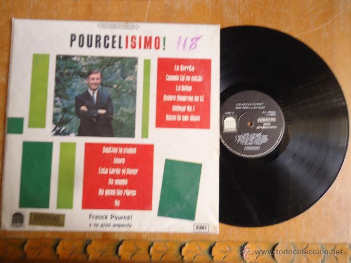 DISCO VINILO RARO - MEDELLIN COLOMBIA , POURCELISMO , PRANCK PORUCEL Y GRAN ORQUESTA, EMI - CODISCOS (Música - Discos - Singles Vinilo - Otros estilos)