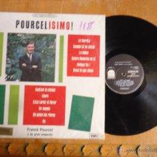 Discos de vinilo: DISCO VINILO RARO - MEDELLIN COLOMBIA , POURCELISMO , PRANCK PORUCEL Y GRAN ORQUESTA, EMI - CODISCOS. Lote 45350114