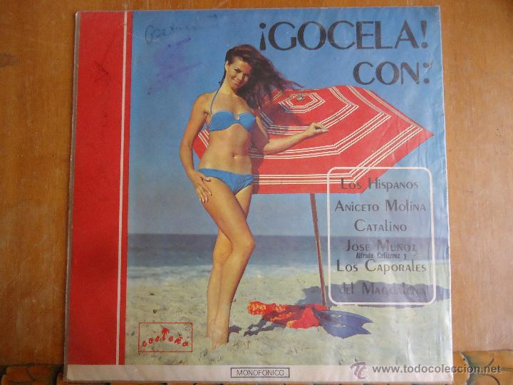 CARATULA DISCO GOCELA , COSTEÑO CODISCOS MEDIELLIN COLOMBIA SOLO LA CARTATULA SIN DISCO (Música - Discos - Singles Vinilo - Otros estilos)