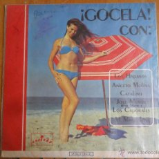 Discos de vinilo: CARATULA DISCO GOCELA , COSTEÑO CODISCOS MEDIELLIN COLOMBIA SOLO LA CARTATULA SIN DISCO. Lote 45350836