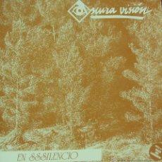 Discos de vinilo: OSCURA VISION-EN SSSILENCIO LP VINILO 1991 + INSRT SPAIN. Lote 45351287
