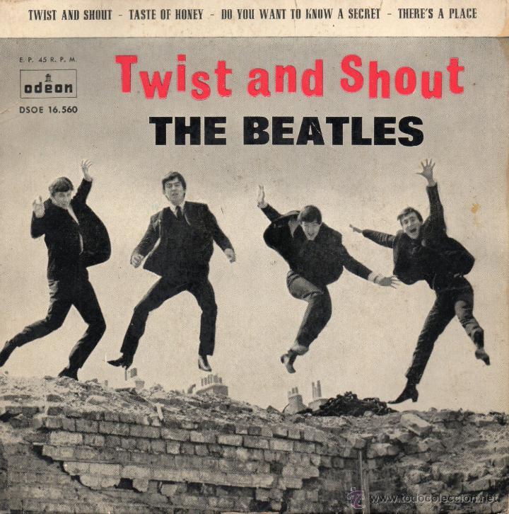 Discos de vinilo: BEATLES, EP, TWIST AND SHOUT + 3 , AÑO 1963 - Foto 1 - 45351358