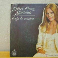 Discos de vinilo: MARY CRUZ SORIANO-CAJA DE MUSICA-CAVATINA-. Lote 45356302