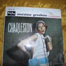 Discos de vinilo: ONESIME GROSBOIS Y SON PIANO D´OCCASION. CHARLESTON. BARCLAY EDICION FRANCESA. 10 PULGADAS. Lote 45357751