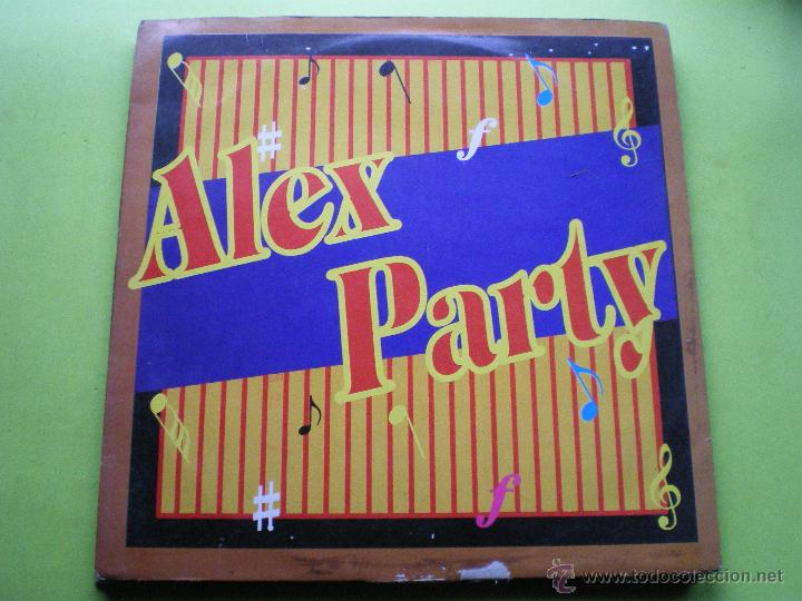 ALEX PARTY SUNDAY NIGHT PARTY ,7 TRACK MAXI CONTRASEÑA 33RPM (Música - Discos de Vinilo - Maxi Singles - Disco y Dance)