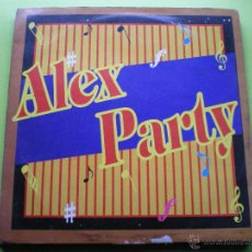 Discos de vinilo: ALEX PARTY SUNDAY NIGHT PARTY ,7 TRACK MAXI CONTRASEÑA 33RPM. Lote 45363010