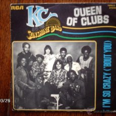 Discos de vinilo: K C & THE SUNSHINE BAND - QUEEN OF CLUBS + I´M SO CRAZY ( ´BOUT YOU ) . Lote 45365201