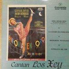 Discos de vinilo: LOS XEY - SINFONIA EN ORO - COLUMBIA ESPAÑA - 1958, LA EDICION ESPAÑOLA. Lote 45370648