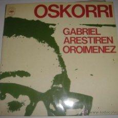 Discos de vinilo - LP GABRIEL ARESTIREN OROIMENEZ OSKORRI AÑO 1976 - 45374953