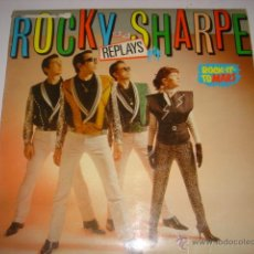 Discos de vinilo: LP ROCKY AND THE SHARPE REPLAYS ROCK-IT-TO MARS . Lote 45376841
