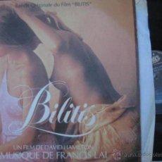 Discos de vinilo: ANTIGUO VINILO: BANDA ORIGINALE DU FILM BILITIS. 1980. Lote 45377805