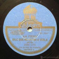 Discos de vinilo: JOSE OTO - LA FIERA / DILE QUE NO ENTRO A VERLA / UN PAÑUELO POR LA CARA / TENGO QUE SUBIR, SUBIR. Lote 45383102
