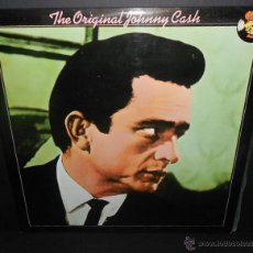Discos de vinilo: JOHNNY CASH - THE ORIGINAL JOHNNY CASH (ESPAÑA-1978). Lote 45384256