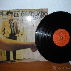 Discos de vinilo: BANDA SONORA ORIGINAL - EL GRADUADO - PAUL SIMON. Lote 45388121