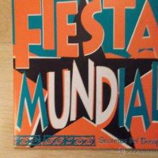 Discos de vinilo: FIESTA MUNDIAL - LA SOLUCION - UNICO DISCO DEL GRUPO DE ZARAGOZA. Lote 45388465
