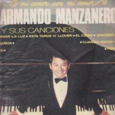 Discos de vinilo: ARMANDO MANZANERO Y SUS CANCIONES. Lote 45390109