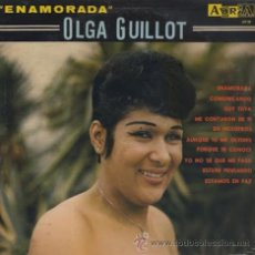 Disques de vinyle: OLGA GUILLOT. ENAMORADA. LP. Lote 45392448