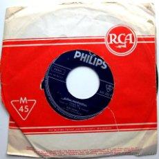 Discos de vinilo: BELA SANDERS - ADIOS MUCHACHOS / LUNA ARGENTINA - SINGLE PHILLIPS 196? BPY. Lote 45394606