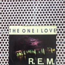 Discos de vinilo: R.E.M. REM THE ONE I LOVE - U.S.A. (OJO!!! SOLO CARATULA SIN DISCO). Lote 45395102