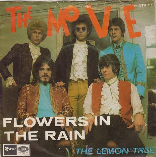 THE MOVE - FLOWERS IN THE RAIN - SINGLE ESPAÑOL DE VINILO JEFF LYNNE 1967 (Música - Discos - Singles Vinilo - Pop - Rock Extranjero de los 50 y 60)