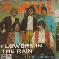 Discos de vinilo: THE MOVE - FLOWERS IN THE RAIN - SINGLE ESPAÑOL DE VINILO JEFF LYNNE 1967. Lote 45395112