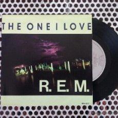 Discos de vinilo: R.E.M. REM THE ONE I LOVE - HOLANDA. Lote 45395205