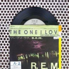 Discos de vinilo: R.E.M. REM THE ONE I LOVE - JAPON. Lote 45395355