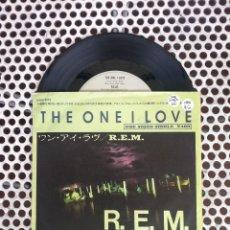 Discos de vinilo: R.E.M. REM THE ONE I LOVE - JAPON. Lote 45395457