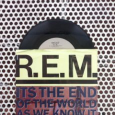 Discos de vinilo: R.E.M. REM IT'S THE END OF THE WORLD AS WE KNOW IT (AND I FEEL FINE) - USA. Lote 45395784