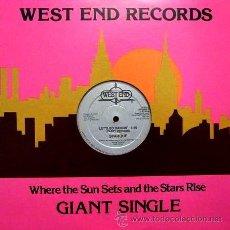 Discos de vinilo: SPARQUE - LET'S GO DANCIN' (3 VERSIONES) - MAXI IMPORT U.S.A. / WEST END RECORDS (1981) WES 22135. Lote 45399631
