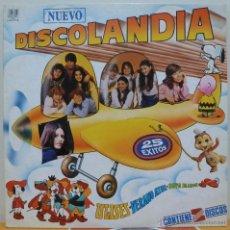 Discos de vinilo: DISCOLANDIA (2LP BELTER 1981) PARCHIS·REGALIZ·PETETE·POPITOS. Lote 45418748