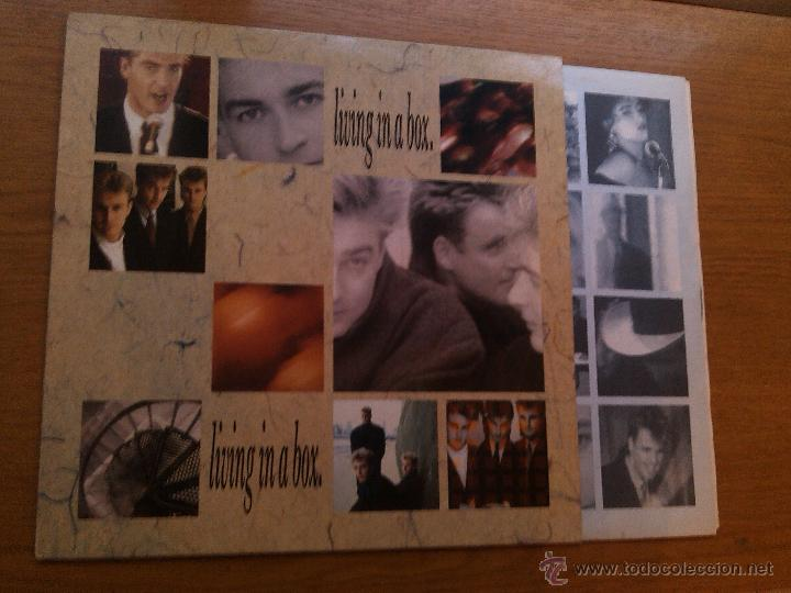 LIVING IN A BOX - LIVING IN A BOX (LP) (Música - Discos - LP Vinilo - Pop - Rock - New Wave Extranjero de los 80)