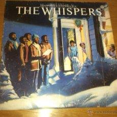 Discos de vinilo: WHISPERS - HAPPY HOLIDAYS TO YOU (LP, ALBUM) 1979 USA . Lote 45429375