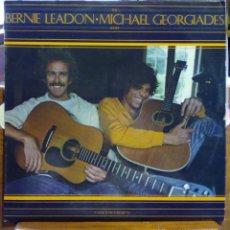 Discos de vinilo: BERNIE LEADON MICHAEL GEORGIADES, NATURAL PROGRESSIONS (HPVX 77) ENCAR- FLYING BURRITO DILLARD CLARK. Lote 45433346