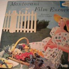 Discos de vinilo: MANTOVANI FILM ENCORES - DECCA -1.960. Lote 45436476