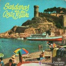 Discos de vinilo: COBLA COSTA BRAVA- SARDANAS EN LA COSTA BRAVA - EL BALCO DEL MARENOSTRUM + 3 TEMAS, EP COLUMBIA 1961. Lote 45439731