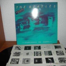 Discos de vinilo: THE BEATLES - CANCIONES DE AMOR (DOBLE VINILO). Lote 45443064