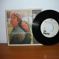 Discos de vinilo: LOS PLANETAS - DAVID Y CLAUDIA 7´´. Lote 45443175