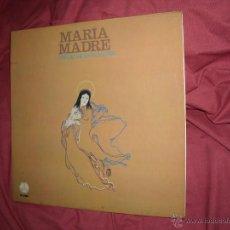 Discos de vinilo: RELIGIOSO LP MARIA MADREW MUSICA Y LETRA EMILIO VICENTE MATEU 1981 PAX. Lote 45446295
