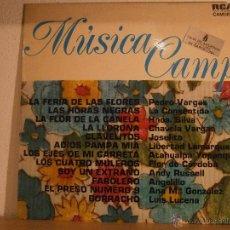 Discos de vinilo: MUSICA CAMP, PEDRO VARGAS, CHAVELA VARGAS, JOSELITO, ATAHUALPA YUPANQUI, LUIS LUCENA, ETC. Lote 45446492
