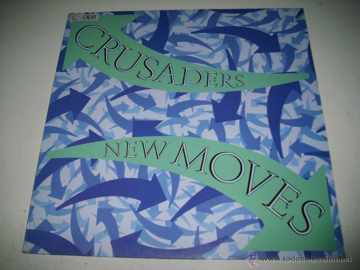 CRUSADERS NEW MOVES (1984 MCA RECORDS ESPAÑA) JOE SAMPLE PROMOCIONAL MAXI SINGLE (Música - Discos de Vinilo - Maxi Singles - Jazz, Jazz-Rock, Blues y R&B)