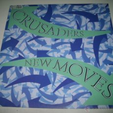 Discos de vinilo: CRUSADERS NEW MOVES (1984 MCA RECORDS ESPAÑA) JOE SAMPLE PROMOCIONAL MAXI SINGLE . Lote 45446519