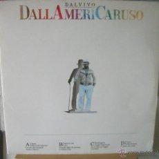 Discos de vinilo: DOBLE LP DE LUCIO DALLA EN VIVO, DALLAMERICARUSO, DOBLE CARPETA, GRABADO EN NUEVA YORK EN 1986. Lote 45450487