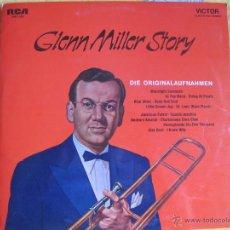 Discos de vinilo: LP-GLENN MILLER AND HIS ORCHESTRA-GLENN MILLER STORY (GERMANY, RCA VICTOR SIN FECHA, PORTADA DOBLE). Lote 45452039