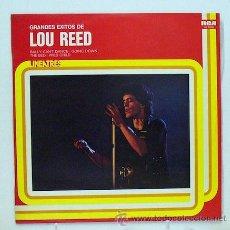 Discos de vinilo: LOU REED - 'GRANDES ÉXITOS' (LP VINILO). Lote 45459369