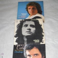 Discos de vinilo: 3 DISCOS DE R.CARLOS. Lote 45462775