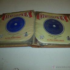 Discos de vinilo: DISCOFLEX LOTE DE 13 DISCOS + 2 DISCOS STARLUX Y ALBUM AÑOS 60 DE REGALO. Lote 45467142