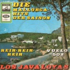 """Discos de vinilo: LOS JAVALOYAS - SINGLE VINILO 7"""" - EDITADO EN ALEMANIA - REIR + VUELO 502 - ELECTROLA. Lote 45468553"""