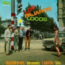 """Discos de vinilo: LOS PÁJAROS LOCOS - EP VINILO 7"""" AUTOGRAFIADO - EDITADO EN ESPAÑA - EL SEMÁFORO + 3 - EKIPO 1967. Lote 45469761"""
